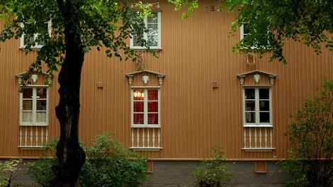 Puutaloja Käpylässä (c) Visit Finland