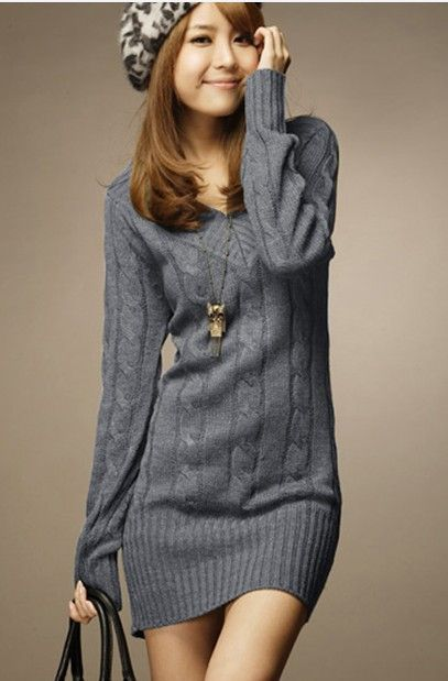 17 Best images about Sweater Dresses on Pinterest | Cable sweater ...