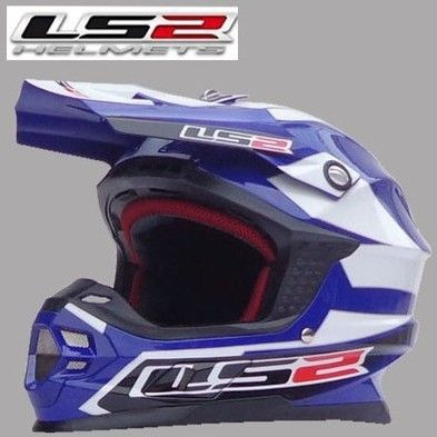 Pengiriman gratis asli LS2 MX456 profesional off – road sepeda motor helm helm fiberglass helm naik helm reli - passion for men