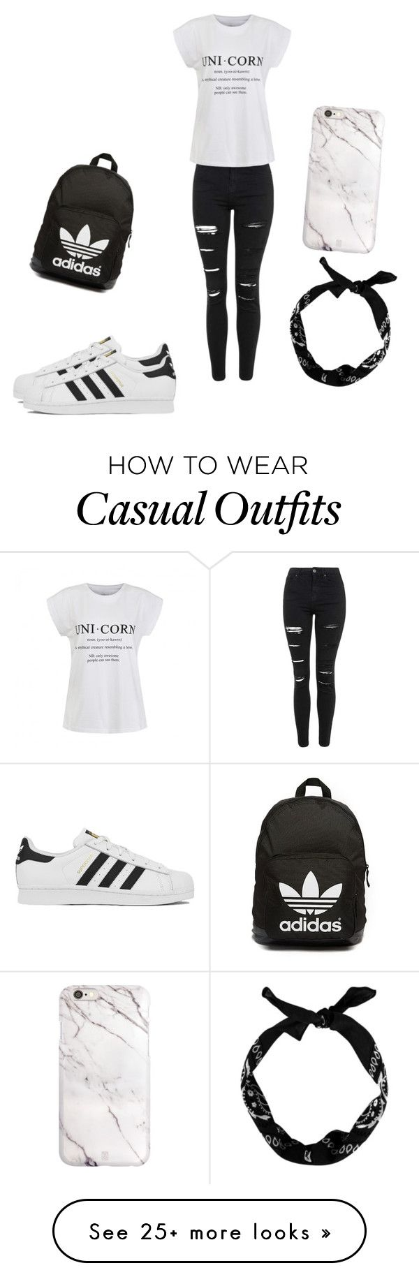 """""""casual"""" by elizagaspar on Polyvore featuring Topshop, Ally Fashion, adidas, adidas Originals, women's clothing, women's fashion, women, female, woman and misses"""