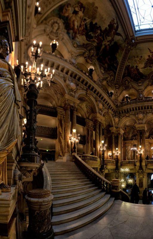 Opera House, Paris, France. the actual Phantom of the Opera setting!!! ❤️❤️❤️