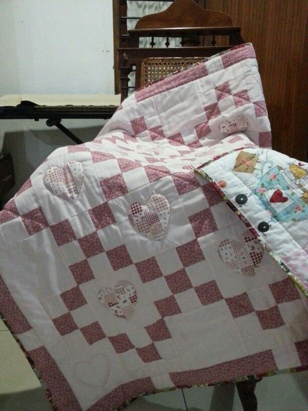 Baby blanket, quilt for charity