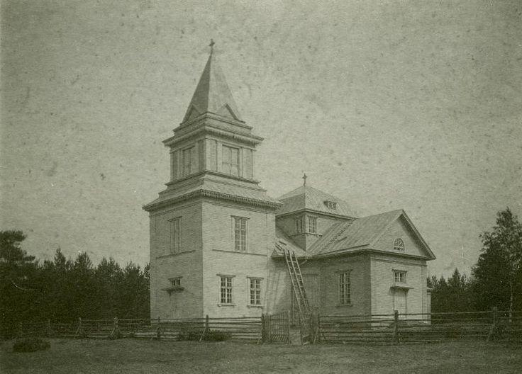 Kinnulan kirkko #kirkot #Kinnula #churches
