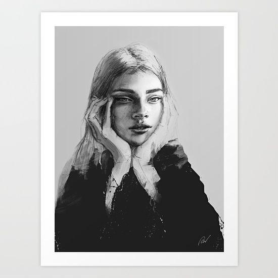 Portrait of a woman No.2 - $15