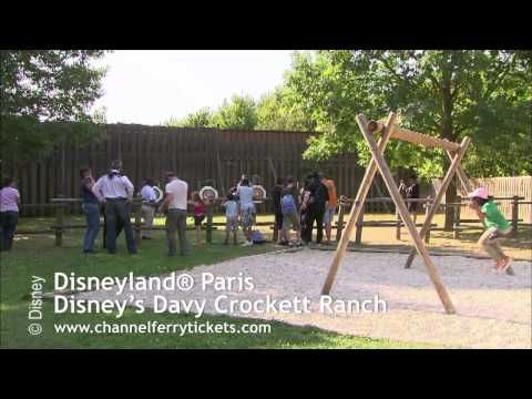 ▶ Disneyland Davy Crockett Ranch Paris | Book Your Disneyland Paris Hotels, Tickets and Holidays - YouTube  Experience the Wild West at #Disneyland Paris at Disney's Davy Crockett Ranch. Watch the video to see how you family will enjoy themselves.  For more information and book your tickets go here http://www.channelferrytickets.com/disneyland-tickets/cheap-disneyland-paris-hotels/disneys-davy-crockett-ranch