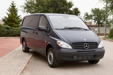Mercedes Benz Vito, transfert et réquisitions. bergadana.com