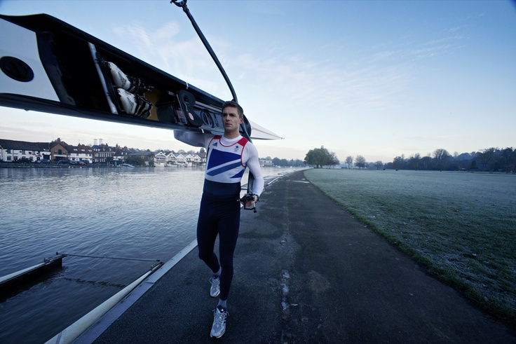 Olympic Gold Medalist Pete Reed by Felix Kunze for Nikon Owner Magazine shot with Nikon's rare 13mm f/5.6 rectilinear lens