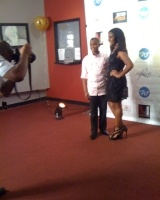 ARI AND RY ON RED CARPET FOR THERE MOVIE THEY BOTH WERE IN BLESSED AND CURSED