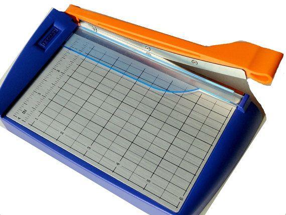 Fiskars Paper Cutter 6 ScrapbookingCraft by VikisVarietyCraft, $8.00