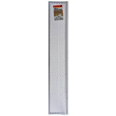 Frost King Gutter Guard Screen, White Vinyl, 6-5/8-In. x 3-Ft.: Model# G636W | True Value