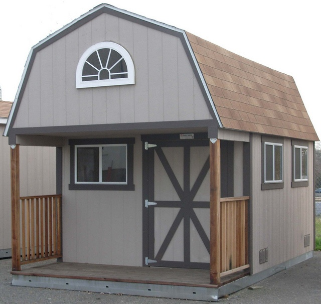 17 best images about house storage sheds photos and porches for Shed with porch and loft