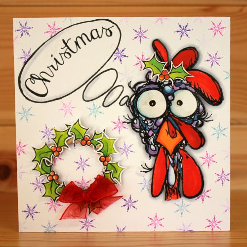 Christmas has arrived at Hobby Art! Introducing CS136D 'Daryl The Quirky Turkey'…