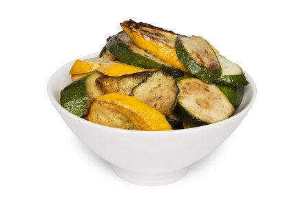 Sauteed Zucchini and summer squash - saute it with fresh pressed ...