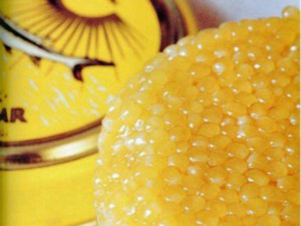 17. Caviarul de beluga iranian