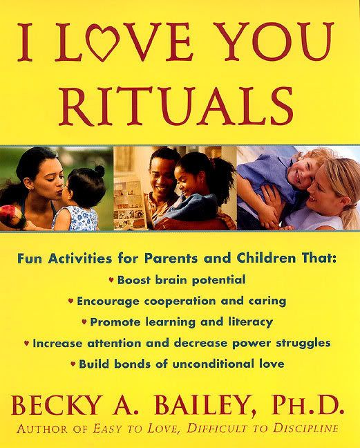 This is a book that goes along with Dr. Becky Bailey's Conscious Discipline .. and it's awesome.