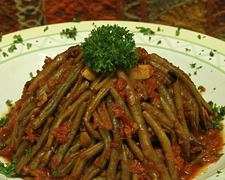 105 best arabic foods images on pinterest arabic food arabian lebanese green beans and tomatoes stew loobee forumfinder Choice Image