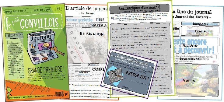 NOUVEAU - Retrouvez la matrice du journal de ma classe afin de faire une base pour créer le votre (en fin d'article) Créer un journal scolaire dans l'école est un bien beau projet à mener, mais il...