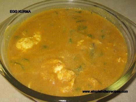 Egg Kurma - Muttai Kurma