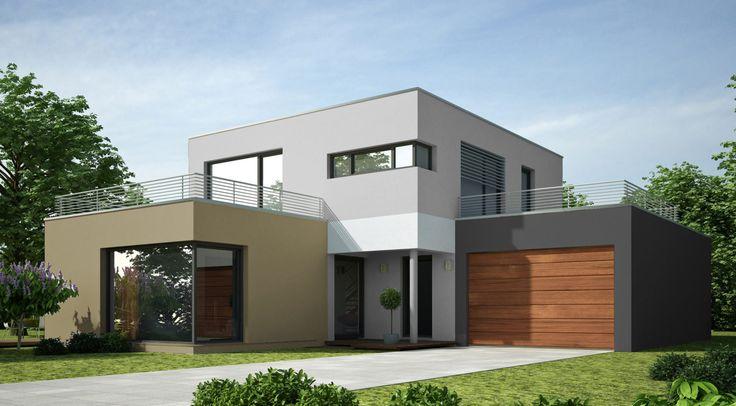 Hausfassade modern farbe  154 besten Fassade Bilder auf Pinterest | Hausfassaden, Architekten ...