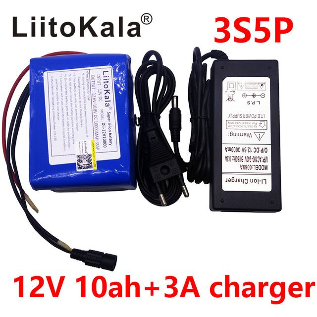 >> Click to Buy << The LiitoKala Grande is the placid of 12 V 10Ah 18650 placa DE protecao da bateria DE litio da bateria DE litio 12.6 V 10, 000 m #Affiliate