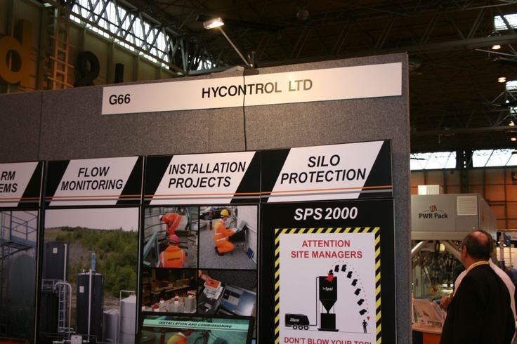 Hycontrol Level Measurement solutions at 2012 PPMA