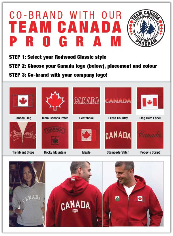 Take pride in your #Canadian connection! Co-brand with our #TeamCanada program! #GoCanadaGo