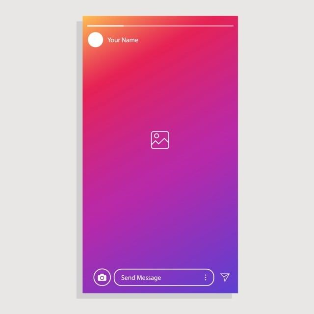 Instagram Stories Instagram Interface Instagram Post Social Media Story Instagram Interface Png And Vector With Transparent Background For Free Download Instagram Story Instagram Graphic