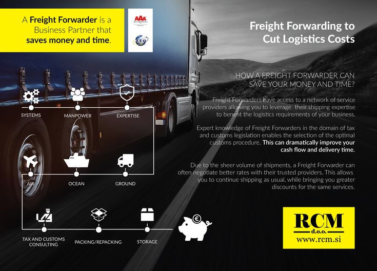 Comprehensive logistics services in one place. Visit us on www.rcm.si