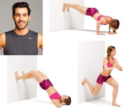 Como tonificar o corpo inteiro usando apenas uma parede