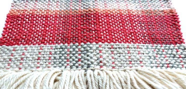 Curso de TELAR nivel inicial -  Taller Francisca Núñez Reveco – Shibori, batik, papel, telar: arte y diseño textil en Santiago de Chile