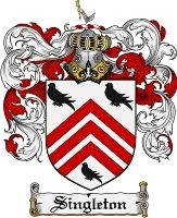 Singleton Coat of Arms / Singleton Family Crest