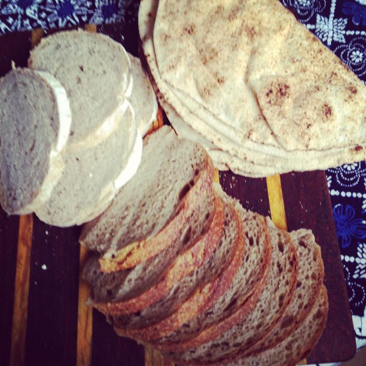 Fresh sourdough from Canberra Farmers' Markets