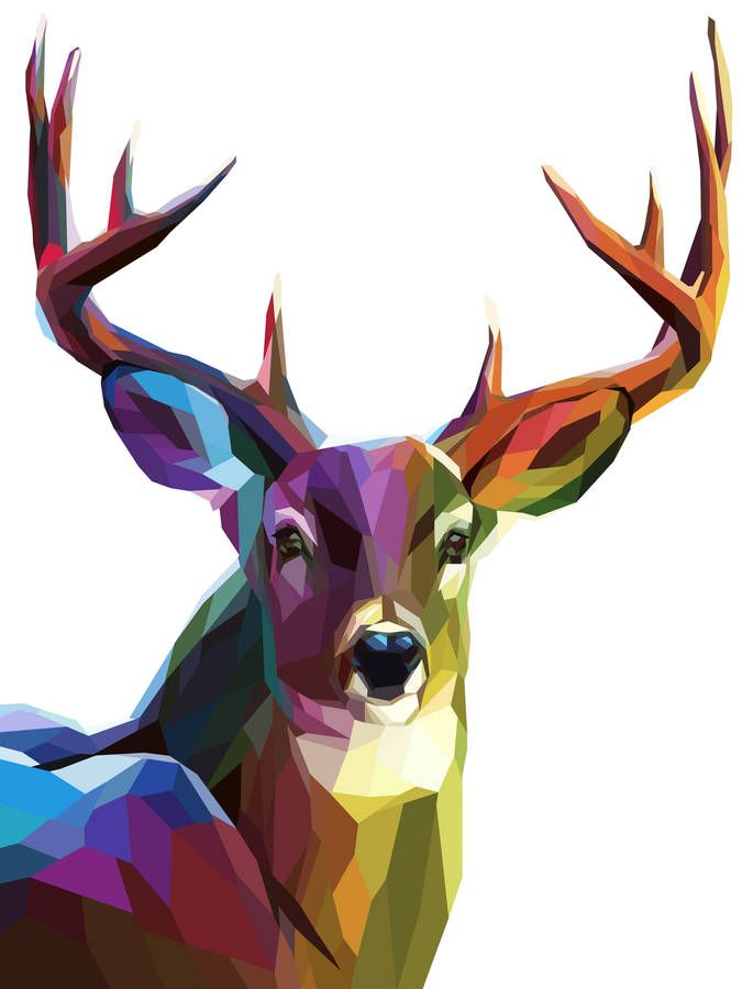 Best 25 Deer Art Ideas On Pinterest