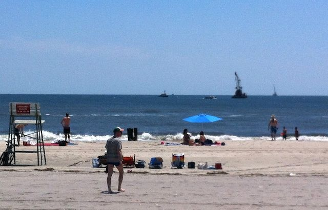 A Massive Rockaway Gas Pipeline Is Being Built Right Under Our Beaches