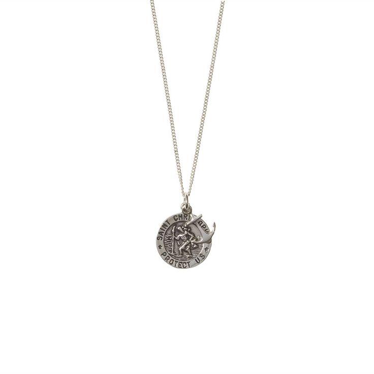 Saint Necklace - St Christopher | iRock Jewellery