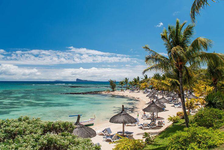 Tropical Beach II. Mauritius by Jenny Rainbow