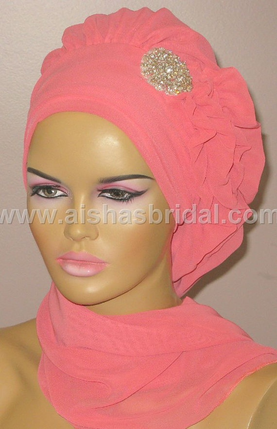 Ready To Wear Hijab  Code HT0118 by aishasbridal on Etsy, $20.10