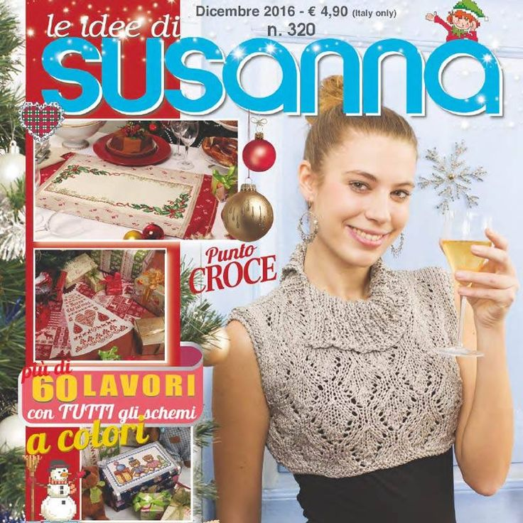 Prosincové číslo časopisu LE IDEE DI SUSANNA č. 320 na www.finery.cz