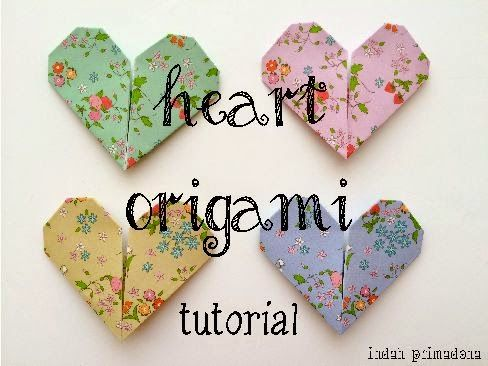 Primadona's Notes: [Tutorial] Heart Origami