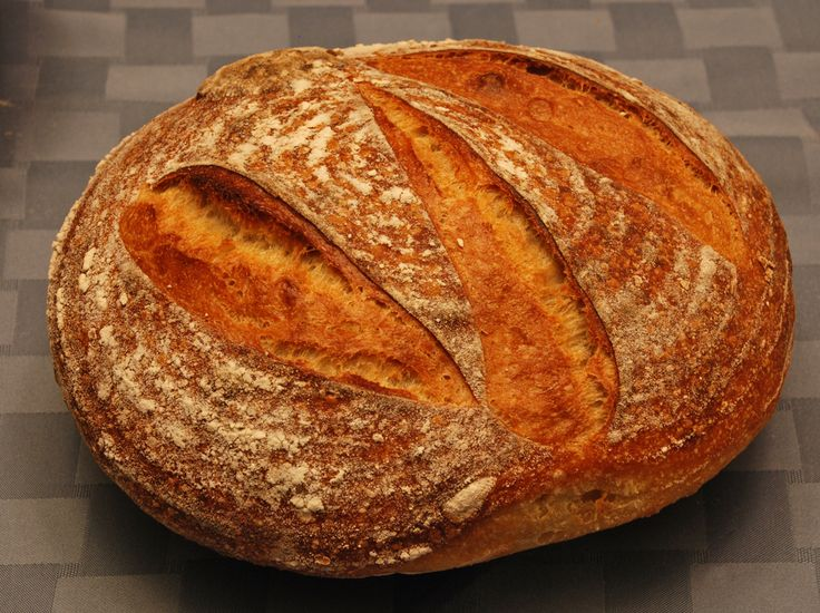 Durum semolina 36 hour sourdough bread