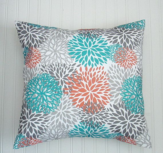 Decorative Throw Pillows 20 X 20 Orange Throw Pillow