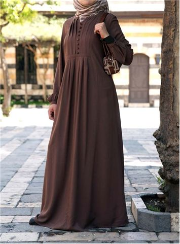 SHUKR UK | Carefree Rayon Abaya Dress