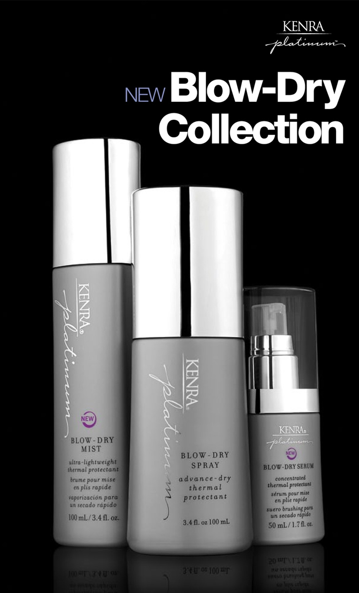 Kenra Platinum Blow-Dry Spray Collection   Kenra Professional