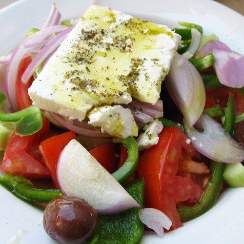 Greek salad - Χωριάτικη σαλάτα