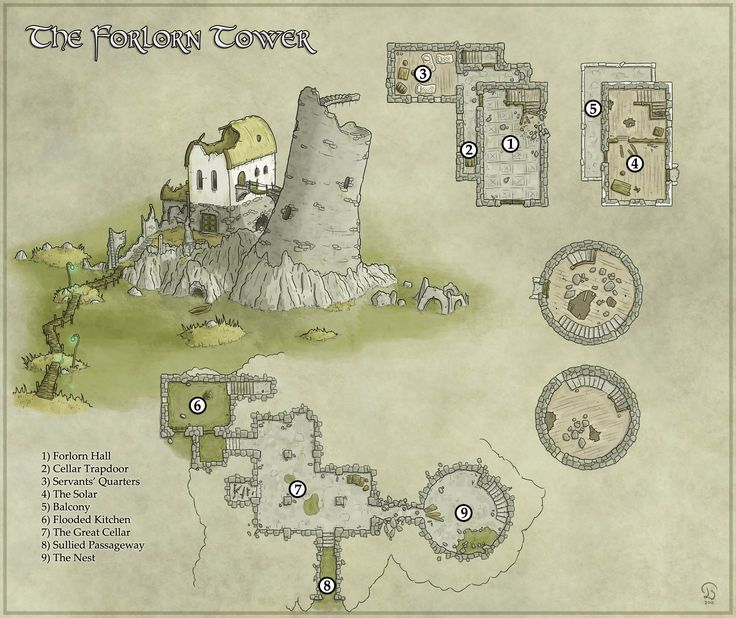Rpg Maps on Medieval Castle Floor Plans