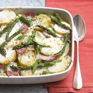Potato Ham Bake