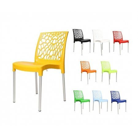 Tuin en horeca terrasstoel Gomez in 10 kleuren