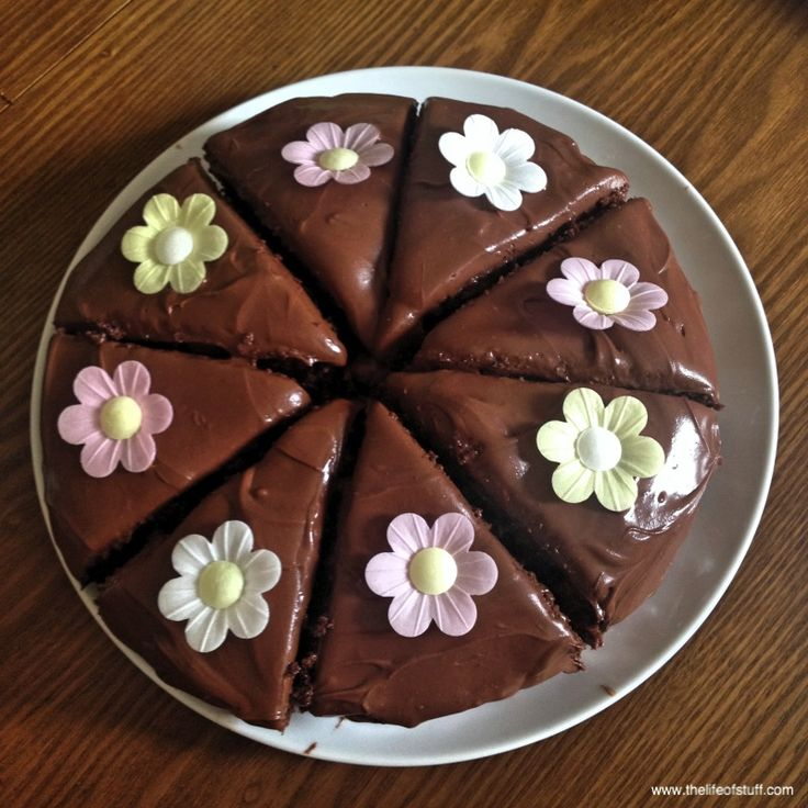 Nigella Lawson's - Old Fashioned Chocolate Cake
