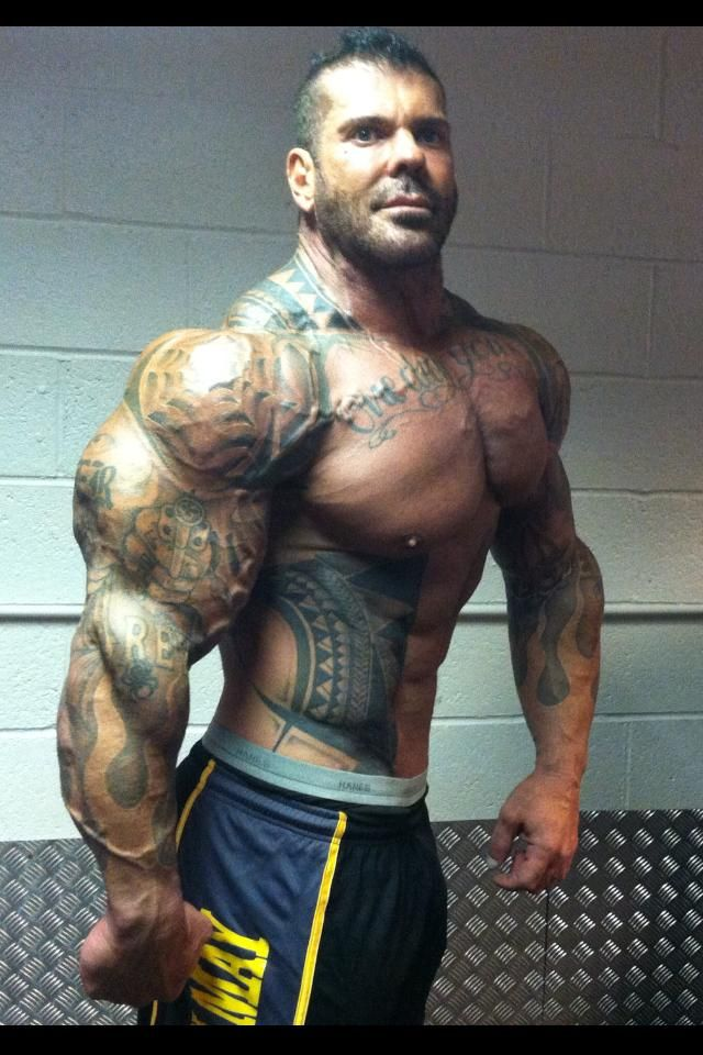 Rich Piana | Wicked tattoos | Pinterest