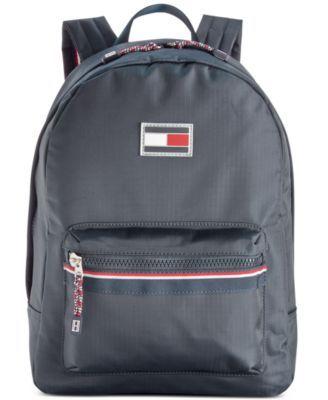 TOMMY HILFIGER Tommy Hilfiger Ripstop Nylon Backpack. #tommyhilfiger #bags #nylon #backpacks #